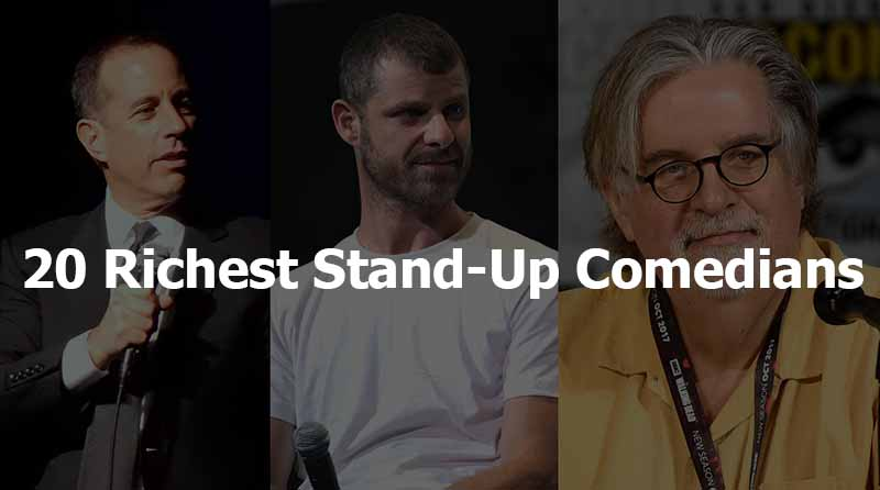 Top 20 richest stand-up comedians of all time.