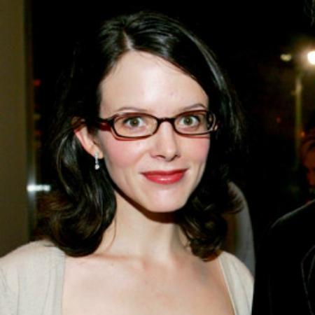 Photo of Steven Martin's wife, Anne Stringfield.