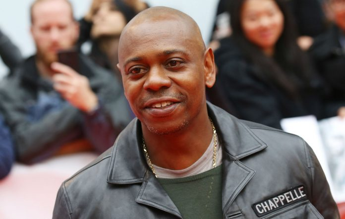 Photo of stand-up comedian, Dave Chappelle