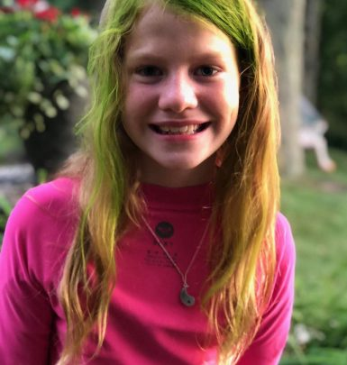 Photo of Jim Gaffigan's daughter, Katie Louise Gaffigan.