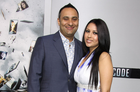 Photo of Russell Peters and his ex-wife, Monica Diaz.