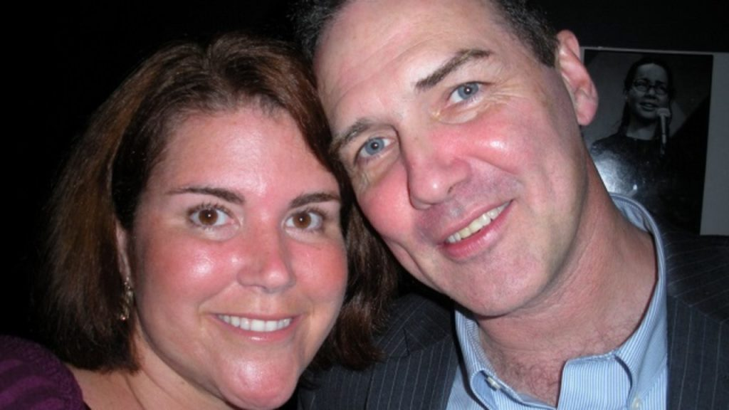 Photo of Norm Macdonald and his ex-Wife, Connie.