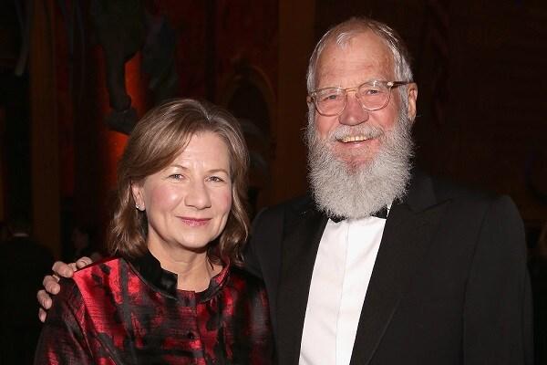 Photo of David Letterman and his wife, Regina Lasko.