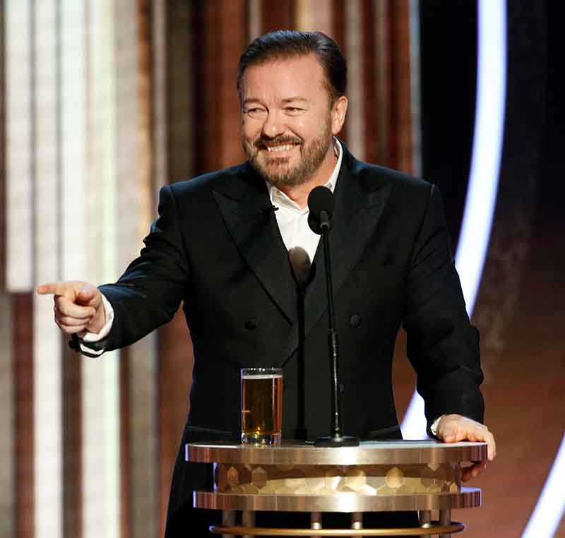 Photo of British comedian, Ricky Gervais Net Worth