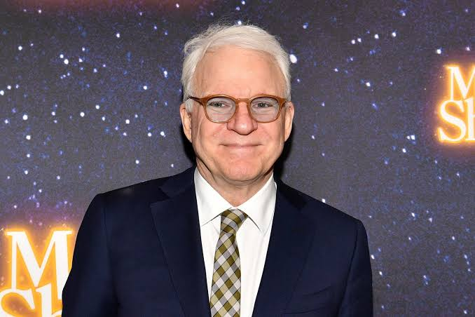 Photo of American stand-up comedian and actor, Steve Martin.