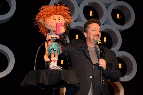 Photo of American ventriloquist and singer, Terry Fator.