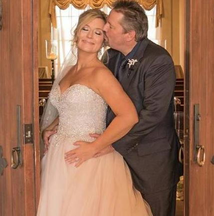 Photo of Terry Fator and his wife, Angie Fiore.