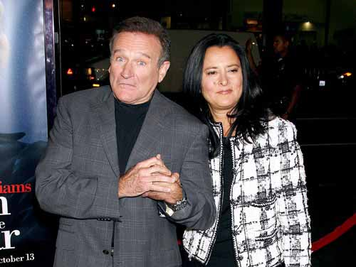Photo of Robin Williams Spouse( second wife), Marsha Garces.