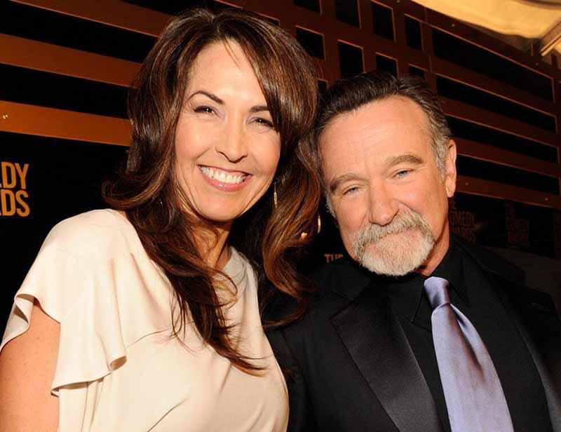 Photo of Robin Williams spouse (Third Wife), Susan Schneider.