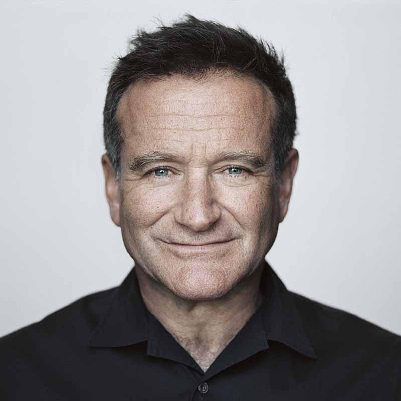 Photo of Robin Williams.