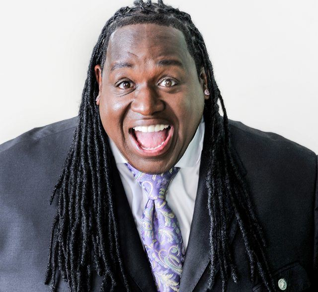 Image of stand-up comedian, Bruce Bruce