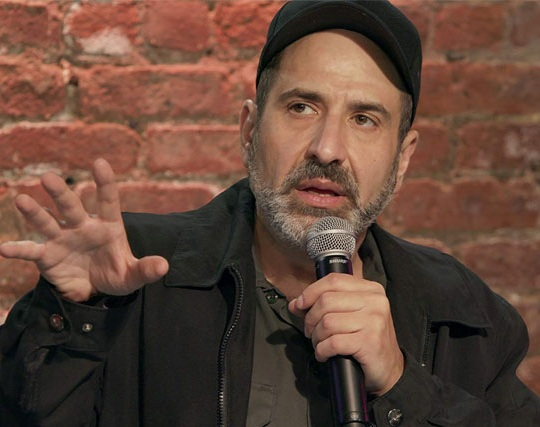 Image of American stand-up comedian and actor, Dave Attell