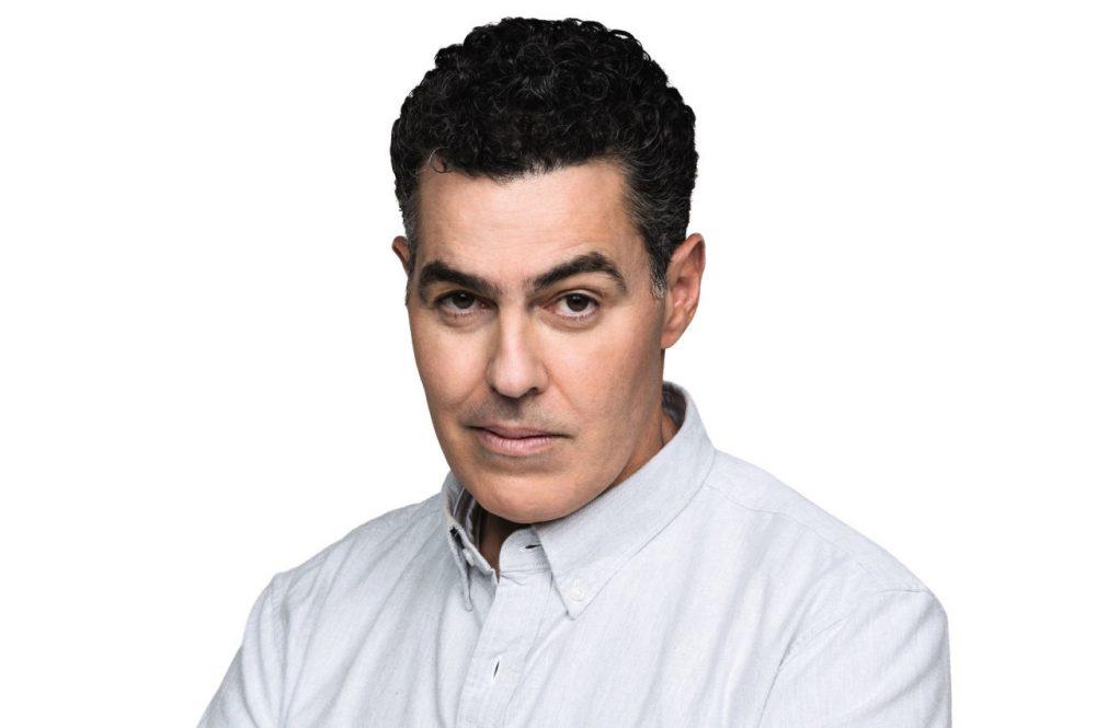 Image of jolliest host, Adam Carolla