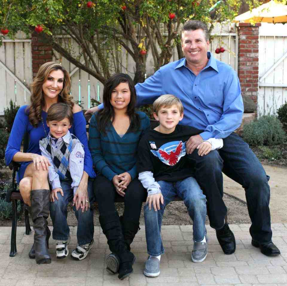 Image of Heather McDonald and her family