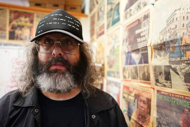 Image of well-known comedian, Judah Friedlander