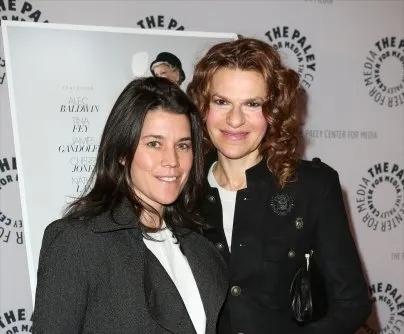 Image of Television star, Sandra Bernhard and her partner