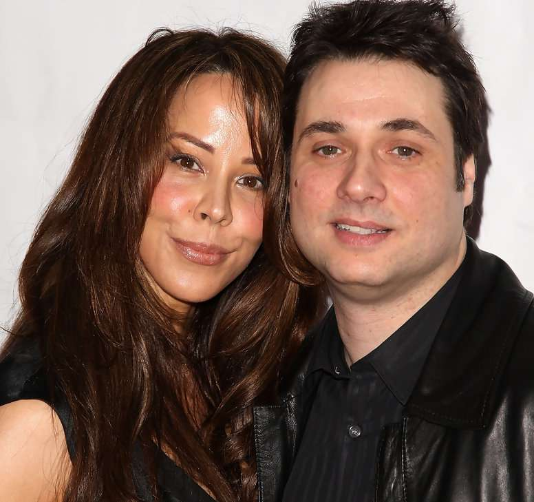 Image of talented comedian, Adam Ferrara and his wife, Alex Tyler