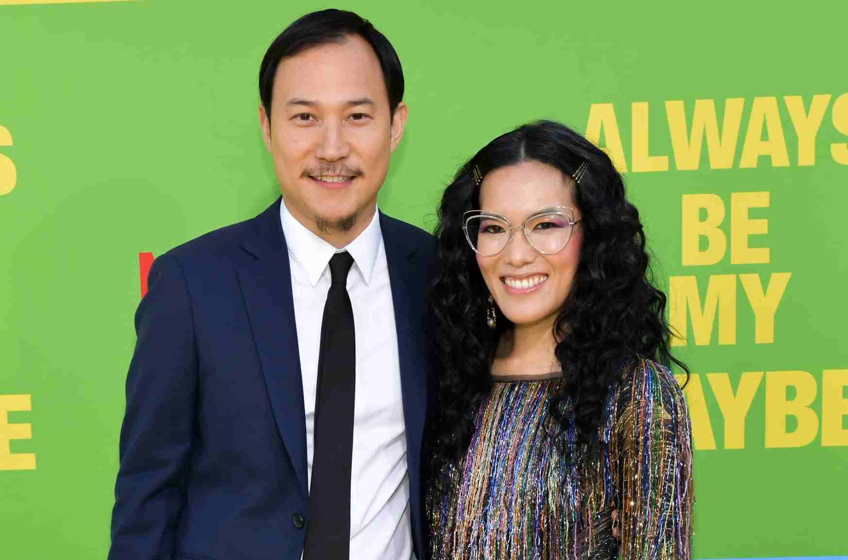 Image of successful couple, Ali Wong and Justin Hakuta