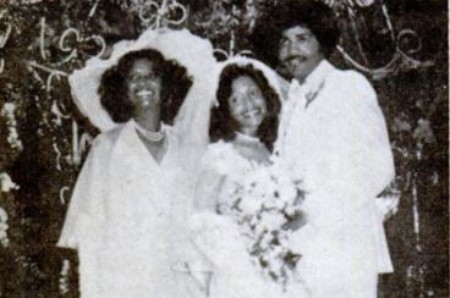 Image of Redd Foxx Daughter Debraca Denise and her husband