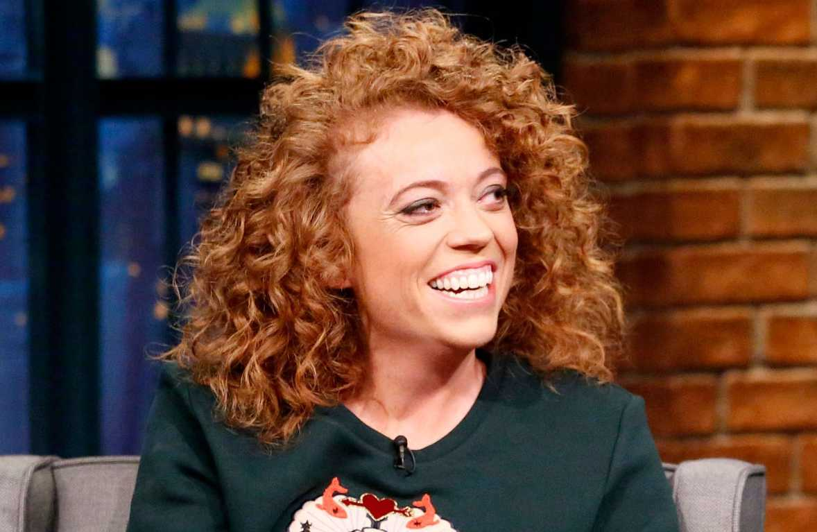 Image of multitalented comedian, Michelle Wolf