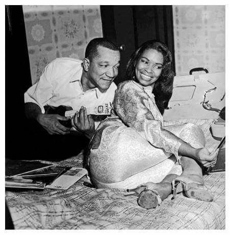Image of popular comedian, Redd Foxx and his wife Betty